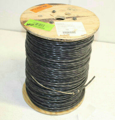 1,000 Ft 12-04 WIre  UNS STR Black, 12AWG