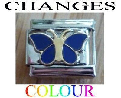 9mm  Italian Charm E157  Mood Butterfly Changes Colour