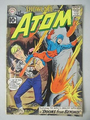 SHOWCASE #35 THE ATOM DEC. 1961 DC COMICS 2nd SILVER AGE APPEARANCE OF THE ATOM