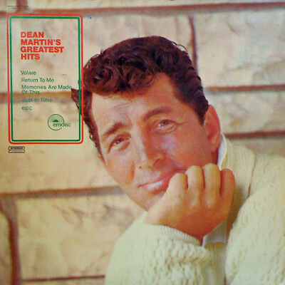 Dean Martin Dean Martins Greatest Hits NEAR MINT emidisc Vinyl LP