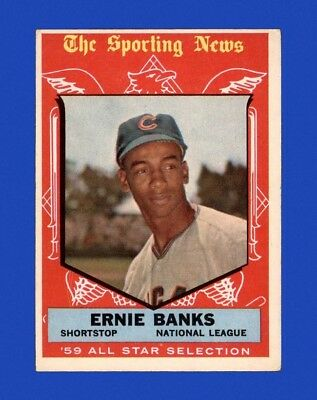 1959 Topps Set Break #559 - Ernie Banks AS VG-VGEX M27245