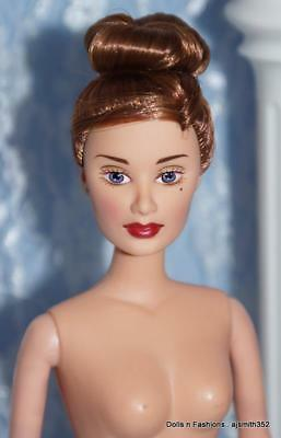 Integrity Candi Doll Brunette Red Hair UpDo NUDE BODY STAINS GREEN EAR FLAWS