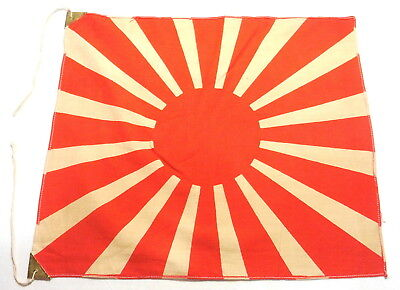 original c.WW2 Imperial Japanese Army Rising Sun Battle Flag .Small size