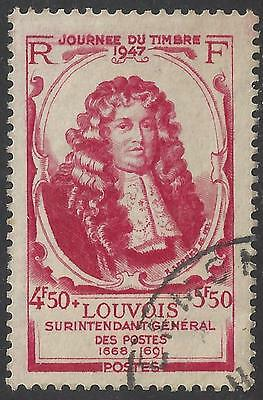 1947 French Stamp Day Michel Le Tellier, Marquis of Louvois  used