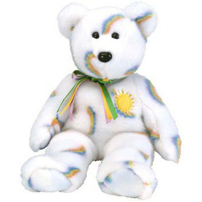 TY Beanie Buddy - CHEERY the Sunshine Bear (14 inch) - MWMTs Stuffed Animal Toy