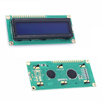 1/5/10Pcs Set 16x2 5V LCD 1602 Blue Backlight White Character Display Module HOT