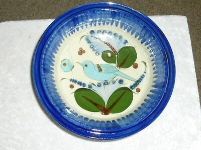 Ken Edwards Mexico Large Bluebird Footed Bowl