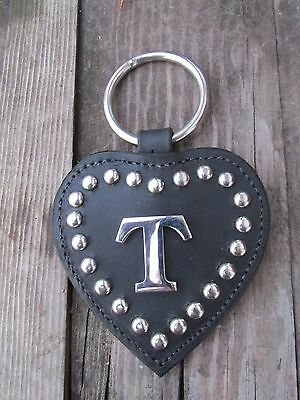Initial T Stainless Harness Center Heart - Line Drop