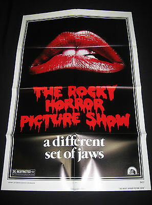 The Rocky Horror Picture Show 1975 * Rare Style-A Lips One Sheet * Mint Unused!!