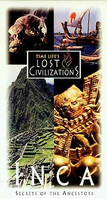 NEW VHS Time-Life Lost Civilizations Inca Nazca Moche Machu Picchu Brain Surgery