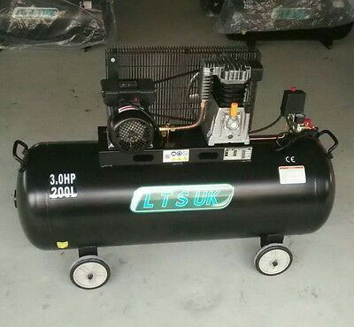 AIR COMPRESSOR 200 LTR NEW  WARRANTY 1 YEAR ct 396 LAST FEW DONT MISS OUT