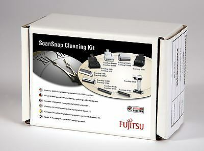 Fujitsu SC-CLE-SS - SCANSNAP CLEANING KIT - 24 x F1 Impregnated Wipes, Instr...