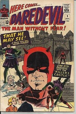 Daredevil No. 9 Dated August 1965. Very Good Condition. Wally Wood Art.