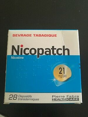 NICOPATCH PATCH SEVRAGE TABAGIQUE 21mg/24h