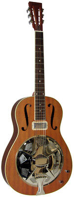 Ashbury AR-39E RESONATOR ELECTRO GUITAR Classic size with F holes from Hobgoblin