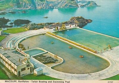 Banffshire, Macduff, Tarlair Boating and Swimming Pool.