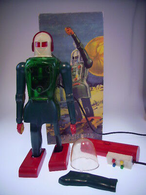 "Gsr Robot ""dux Astroman""  Not Working, Für Bastler/for Restauration ! Repro Box"