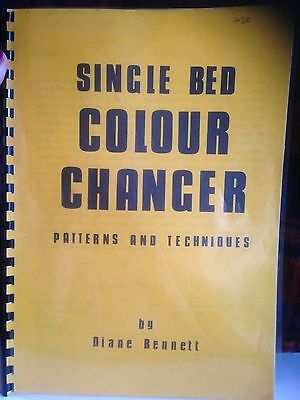 REDUCED! Single bed colour changer , patterns & Techniques Diane Bennett