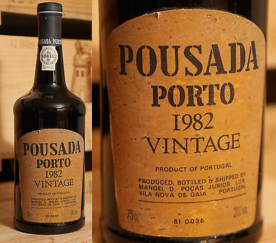 1982er Vintage Port - Pousasa - Pocas Junior *****