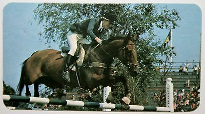 Show Jumping    Debbie Johnsey        Photo Card  VGC