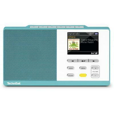 3685581 Technisat Digitradio Kira 1 Tragbar Digital Blau - Wei Radio (0005/4995)