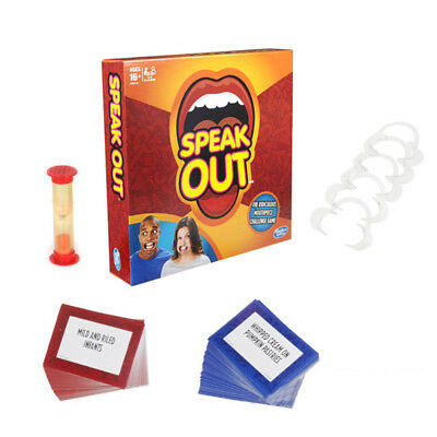 Speak Out Board Family Party Game Mouthguard Challenge Xmas Adult Toys Gifts