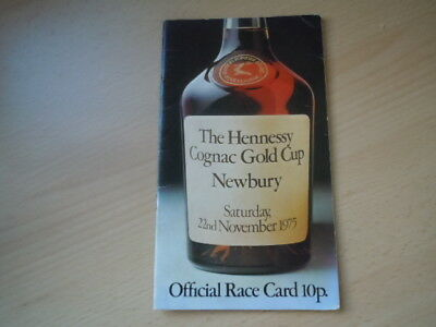 The Hennessy Cognac Gold Cup Newbury 1975 - RED RUM ran in the race