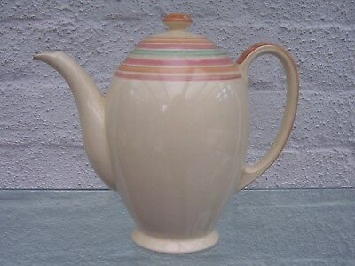 Grays pottery Susie Cooper Layebands coffee pot (Heal and Son)