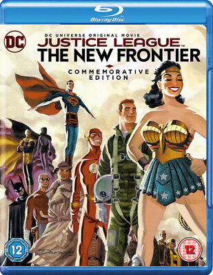 Justice League: The New Frontier Blu-Ray (2017) Dave Bullock cert 12 ***NEW***