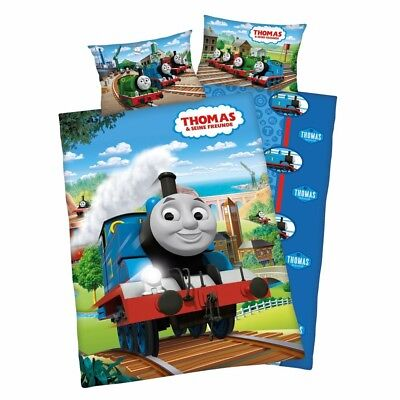 Thomas and Friends - Reversible Junior Duvet Set 40 / 60 x 100 / 135 cm