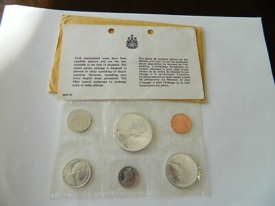 1867-1967 Canada Centennial Proof-Like 6 Coin Set  2049