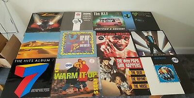Vanilla ice wee papa klf richie rich Joblot vinyl album lp record rap hip hop
