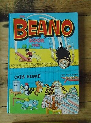 The Beano Book 1981  - Annual - unclipped