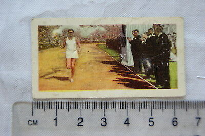 1955 Kane Products card 20th Century Events 35 Olympic Games 1948