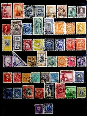 Latin America: Classic Era To 1950's Stamp Collection