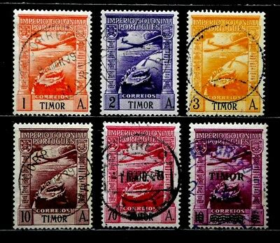 Timor, Portugal: Classic Era Airmail Stamp Collection All Sound