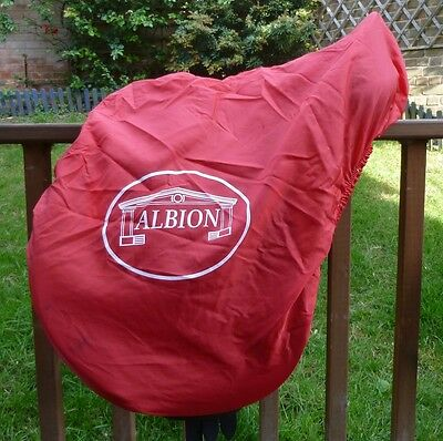 Red Nylon Albion Saddle Cover