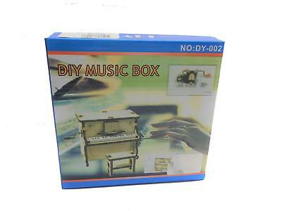 Melody Jane Dolls House Musical Piano & Bench Kit DIY Music Box Discontinued