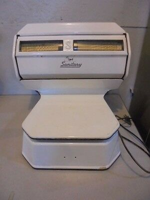 Vintage Sanitary Brand Butcher Scale For Repair