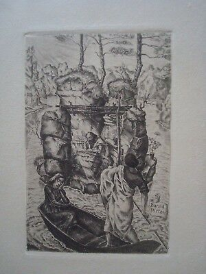 "RABINOVICH -- EX LIBRIS -- ""Seeking the Scholar"" - Very Rare"