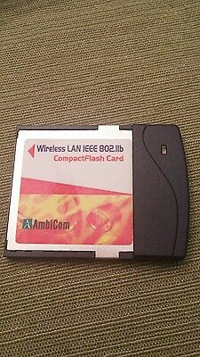 Zoll 9214-0203 Ambicom WL1100C-CF 802.11b WiFi Card for use with R Series