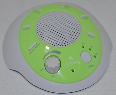 myBaby SoundSpa Portable 6 Soothing Sounds Battery Operated
