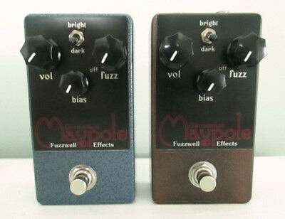 Fuzzwell Effects Maypole, Germanium fuzz face clone (blue)