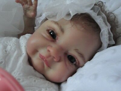 Reborn Baby Girl JENNIE boo boo please read  her story in need of love and hugs