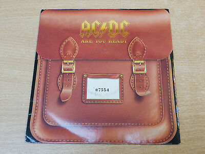 """EX/EX- !! AC/DC/Are You Ready/1990 ATCO 7"""" Single/Limited edition/ACDC"""
