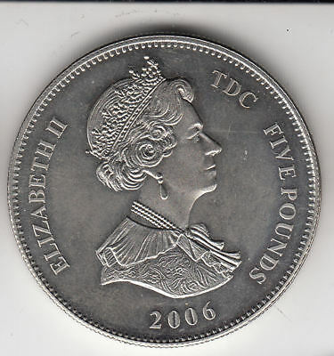Gb T.d.c. £5 2006 Queens Birthday Prooflike       206A         By Coinmountain