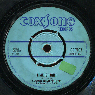"Sound Dimensions - Time Is Tight UK Coxsone 7"" Listen!"