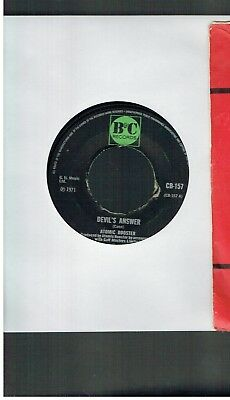 Atomic Rooster Devil's Answer 45 1970
