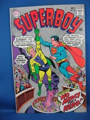 Superboy #141 (Sep 1967, DC) F+