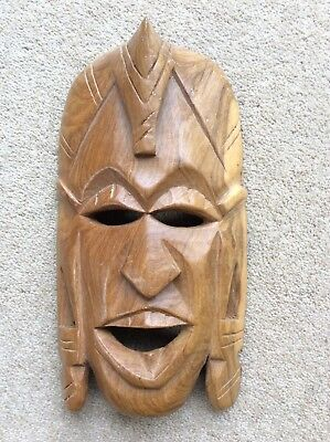 Collectable African Hardwood Mask